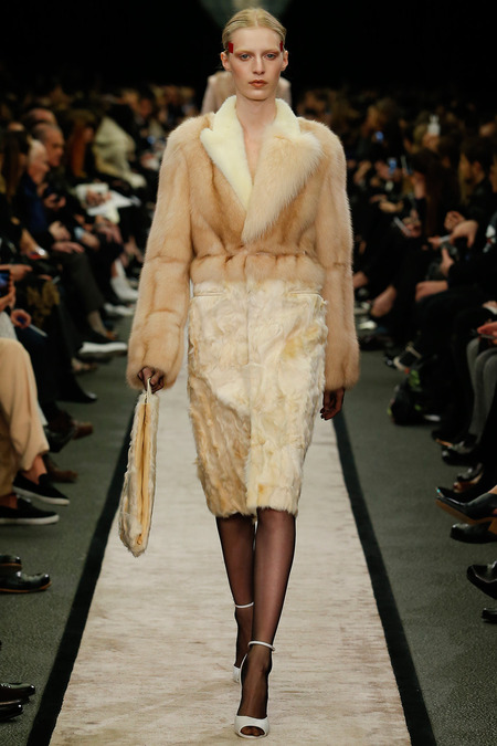 Givenchy in FURRY DETAILS