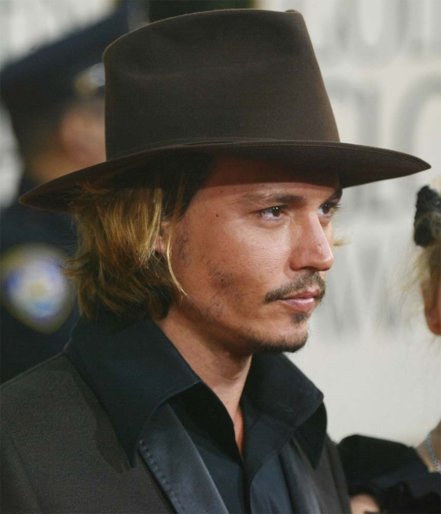 Attractive FEDORA Johnny Depp